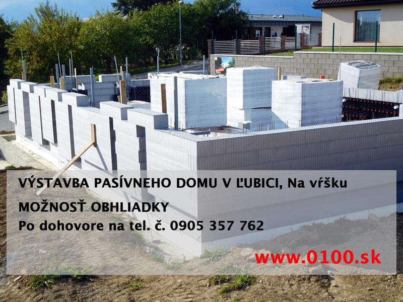 Výstavba pasívneho domu